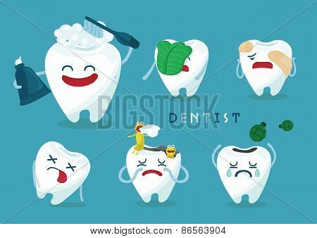 Emotion of tooth