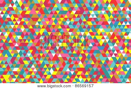 triangle pattern. Vector background. Geometric abstract
