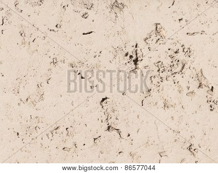 Walls Of Concrete Travertine