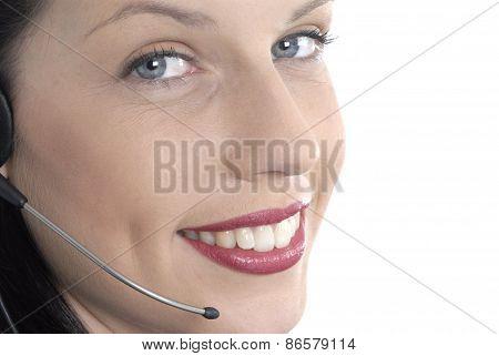 Beautiful Telephone Receptionist