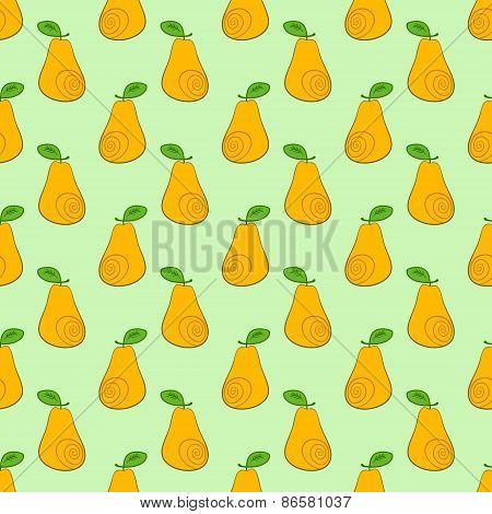 seamless pattern pears