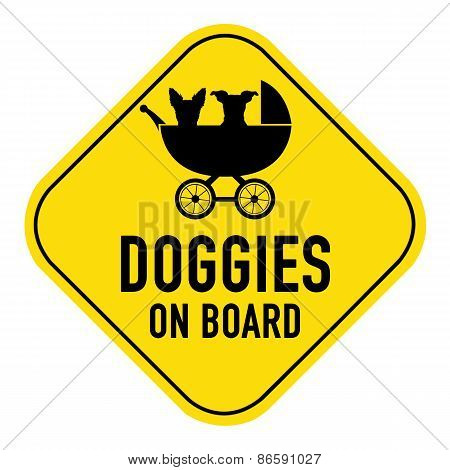 Dog On Board Sign