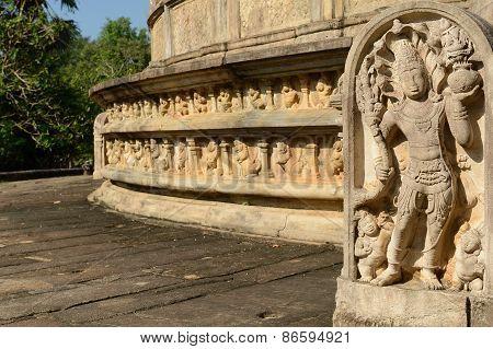 Polonnaruwa Ruin, Sri Lanka