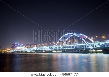 Bridge Across Qiantang River