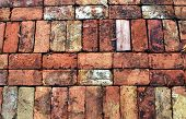 stock photo of garden eden  - Brick Walkway at Eden Gardens State Park in Florida - JPG