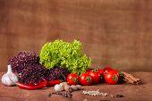 image of vegetables  - Fresh vegetables - JPG