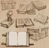 pic of freehand drawing  - BOOKS - JPG