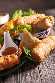 stock photo of nem  - spring roll - JPG