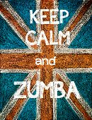 pic of zumba  - Keep Calm and Zumba.
