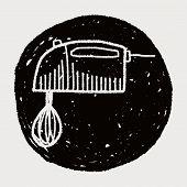 picture of mixer  - Doodle Mixer - JPG