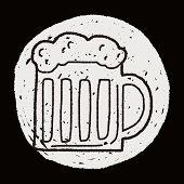 image of drawing beer  - Doodle Beer - JPG