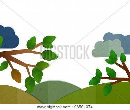Nature Frame Background.