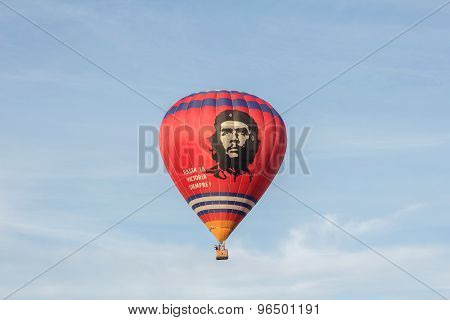 Hot Air Balloon With Che Guevara