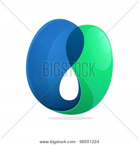 U Letter Volume Logo