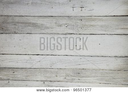Old Wood white planks Background