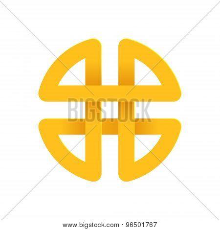 H Letter Volume Logo