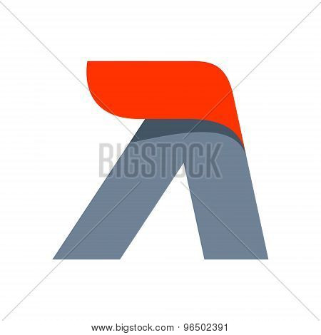 A Letter Logo Design Template