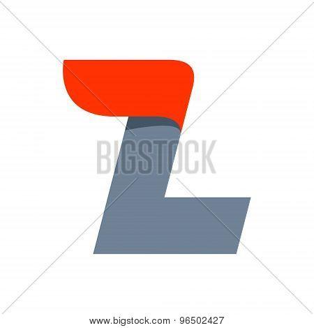 L Letter Logo Design Template.