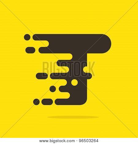 T Letter Logo Design Template.