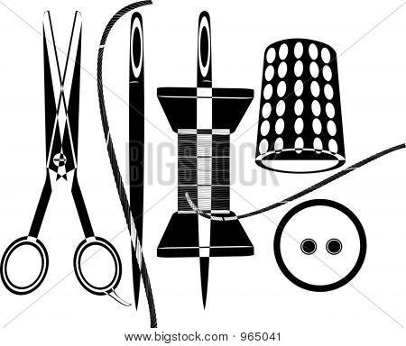 Scissors And Needles