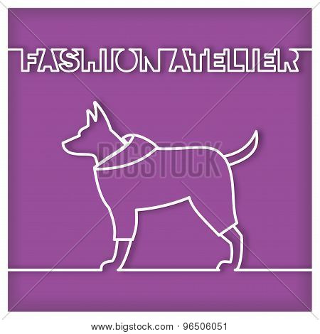 Dog Fashion Atelier Sign