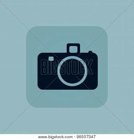Pale blue camera icon