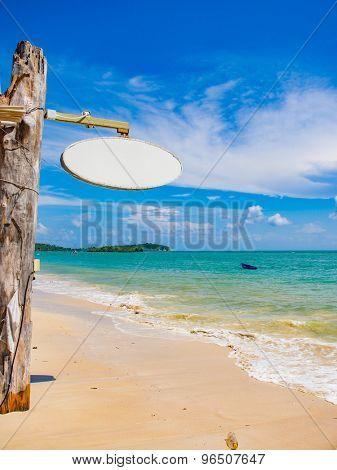 Landscape of Chaweng beach Koh Samui island in Thailand