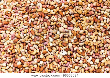 mix of nuts