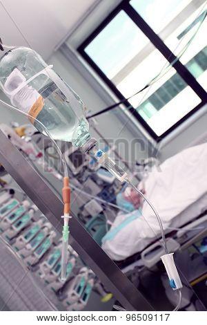 Patient Comatose In Hospital