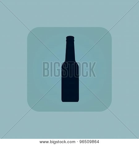 Pale blue alcohol icon