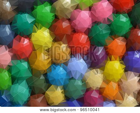 Bright Abstract Festive Background