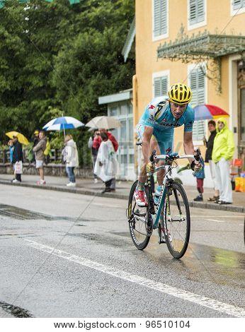 The Cyclist Lieuwe Westra - Tour De France 2014