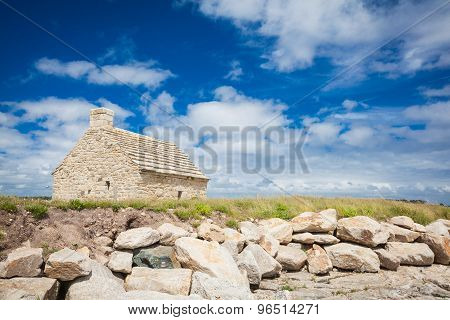 Stone House  At The Mouth Of The Odet