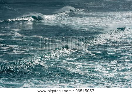 Shimmering Sea