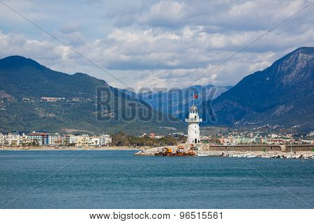 The Lighthouse In Alanya, Turkey