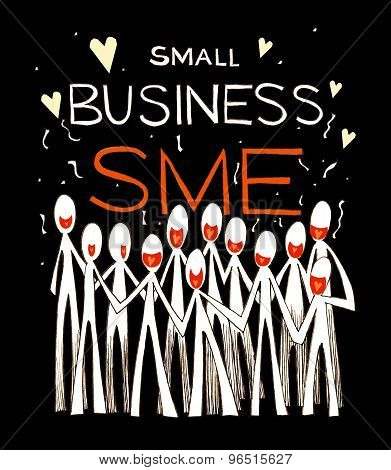 Small Business Team Work Success