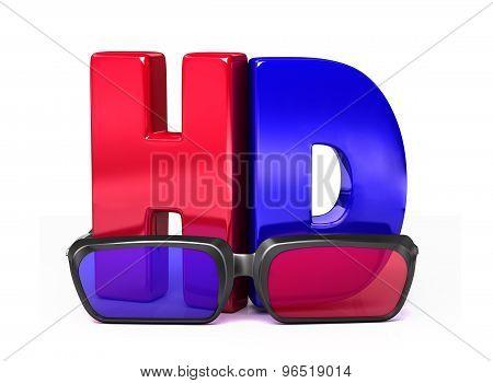 3D Glasses&hd