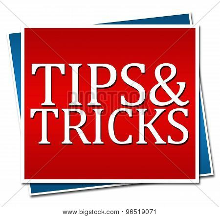 Tips And Tricks Red Blue Blocks