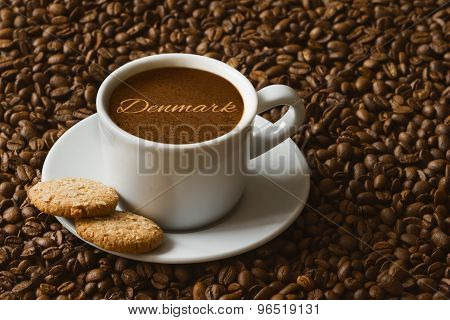 Still Life - Coffee With Text Denmark