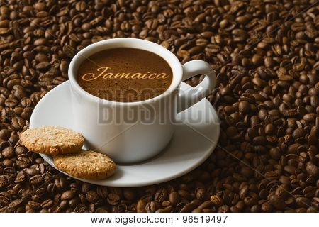 Still Life - Coffee With Text Jamaica