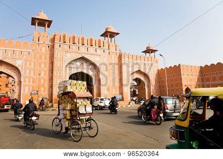 Ajmeri Gate, Jaipur, Rajasthan