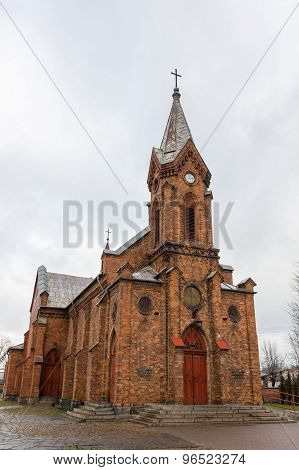Church of the Transfiguration in Aleksandrow Kujawski, Poland