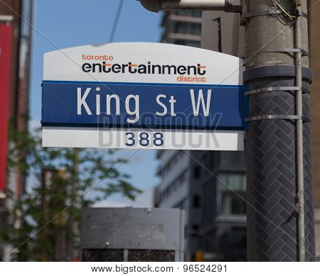 Toronto King Street West