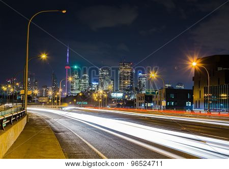 Lake Shore Boulevard East In Toronto