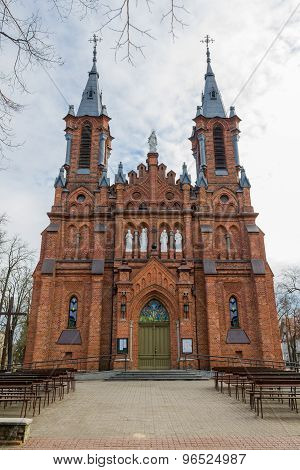 Church of the Holy Apostles Peter and Paul in Ciechocinek, Poland