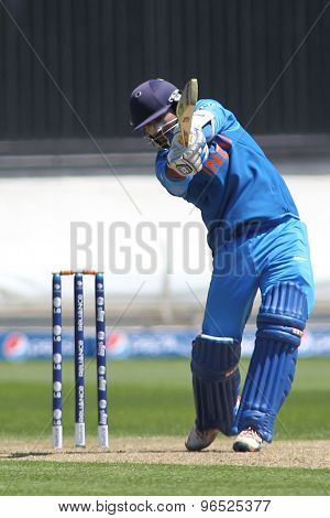 CARDIFF, WALES - June 04 2013: India's Dinesh Karthik during the ICC Champions Trophy warm up match between India and Australia at the Cardiff Wales Stadium on June 04, 2013 in Cardiff, Wales