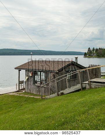 Fishermans Hut In Baddeck