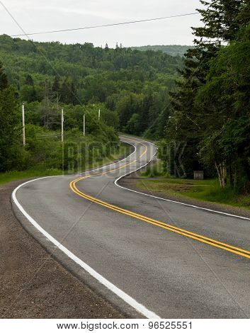 Windy Roads In Cape Breton