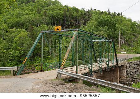Old Bridge In Cape Breton