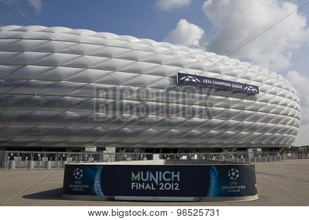 MUNICH, GERMANY May 17 2012 Preview Images for the 2012 UEFA Champions League finals